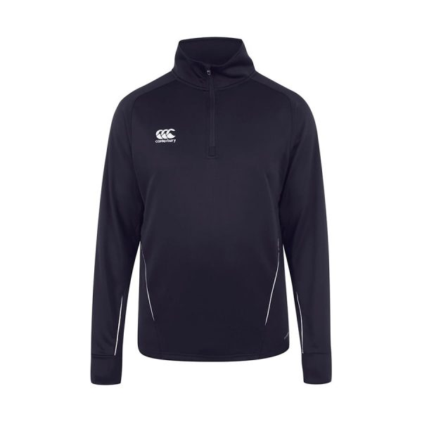 TEAM QUARTER ZIP LAYER TRAINING TOP NAVY 5XL