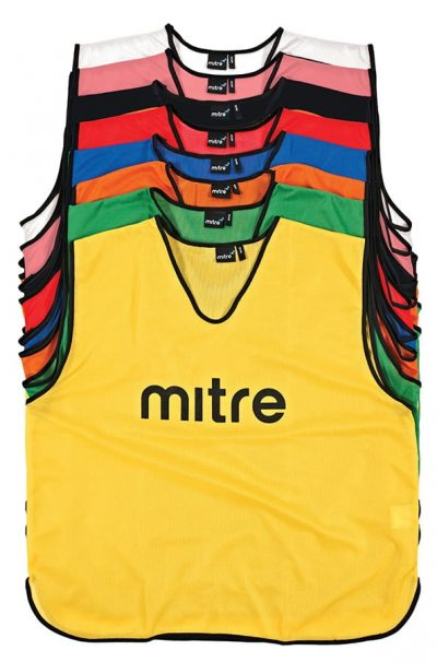 Mitre PRO TRAINING BIBS ROYAL/BLACK