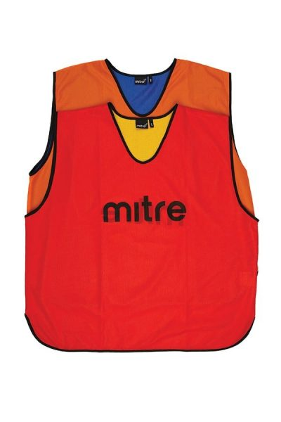 Mitre PRO REV TRAIN BIB ORANGE/ROYAL