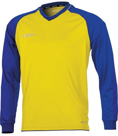 Mitre CABRIO JERSEY YELLOW/ROYAL
