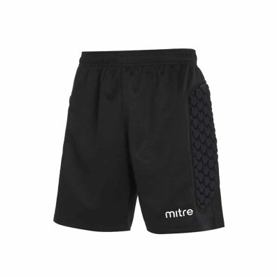 Mitre GUARD PADDED GK SHORT BLACK