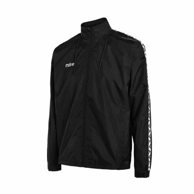 Mitre DELTA RAIN JACKET BLACK/WHITE