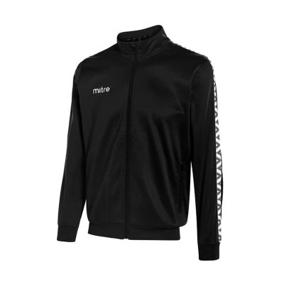 Mitre DELTA POLY TRACK JACKET BLACK/WHITE