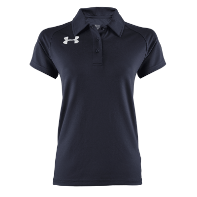 Women's Performance Polo Black 18