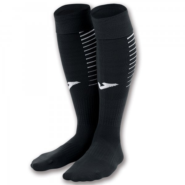 Joma FOOTBALL SOCKS PREMIER PACK 4 UD BLACK