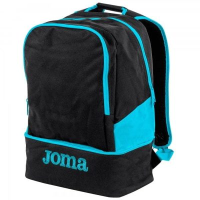 Joma BACKPACK ESTADIO III BLACK-TURQUOISE