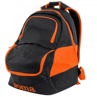Joma BACKPACK DIAMOND II BLACK-TURQUOISE