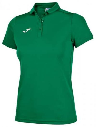 Joma HOBBY WOMEN POLO SHIRT MEDIUM S/S GREEN