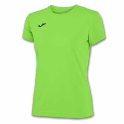 Joma COMBI WOMAN SHIRT S/S FLUOR GREEN