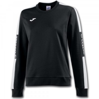 Joma SWEATSHIRT CHAMPION IV WOMAN BLACK-WHITE