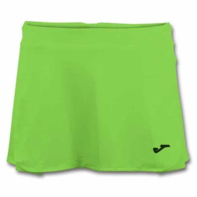 Joma OPEN II TENNIS SKIRT FLUOR GREEN
