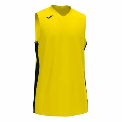 CANCHA III T-SHIRT SLEEVELESS YELLOW-BLACK