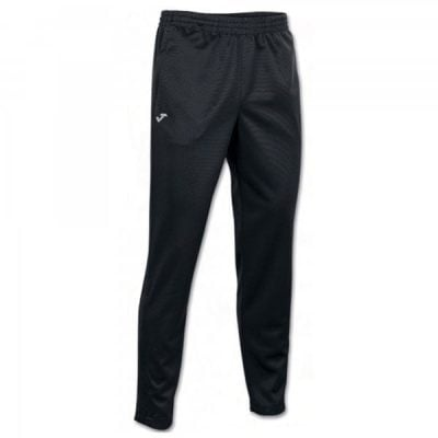 Joma LONG PANT POLY. INTERLOCK BLACK