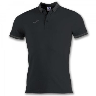 Joma POLO SHIRT BALI II S/S BLACK