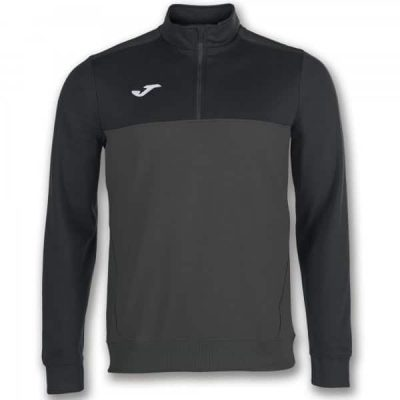 Joma SWEATSHIRT 1/2 ZIPPER WINNER ANTHRAC. ANTHRACITE-BLACK