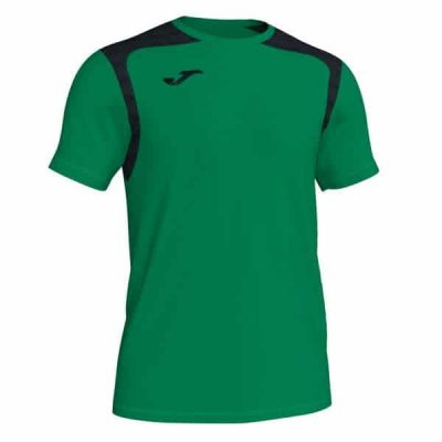 Joma TSHIRT CHAMPION V S/S GREEEN-BLACK