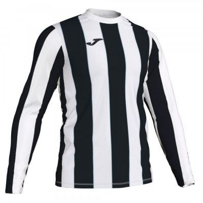 Joma INTER TSHIRT L/S WHITE-BLACK