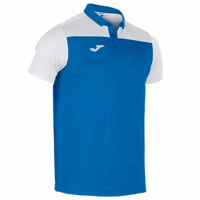 Joma POLO SHIRT COMBI S/S ROYAL-WHITE