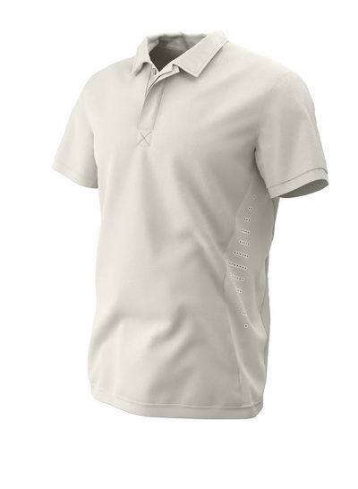 PREMIUM Short Sleeve CRICKET SHIRT Ivory