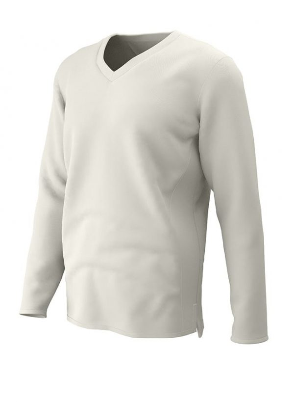 PREMIUM Long Sleeve CRICKET SLIPOVER Ivory