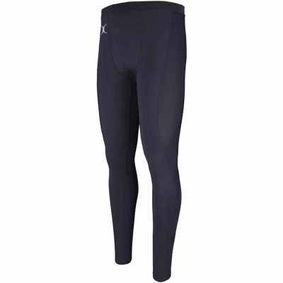 Gilbert Rugby ATOMIC X BASELAYER LEGGINGS Black