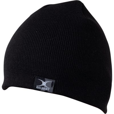 Gilbert Rugby BEANIE HAT Black