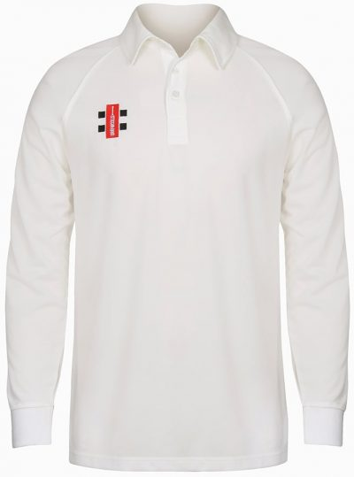 Gray Nicolls SHIRT MATRIX Long Sleeve Ivory