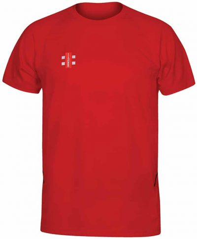 Gray Nicolls TEE SHIRT MATRIX SHORT SLEEVE Red