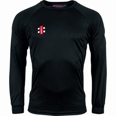 Gray Nicolls TEE SHIRT MATRIX Long Sleeve Black