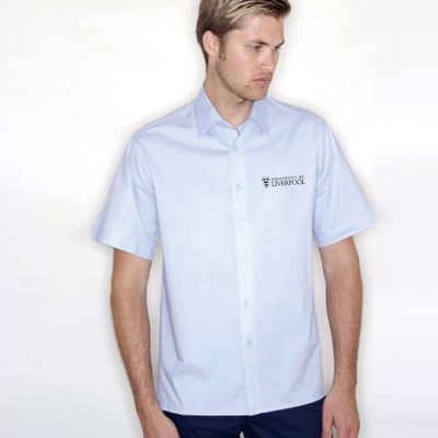 Henbury Short Sleeve Stretch Poplin Shirt CS H537livmru