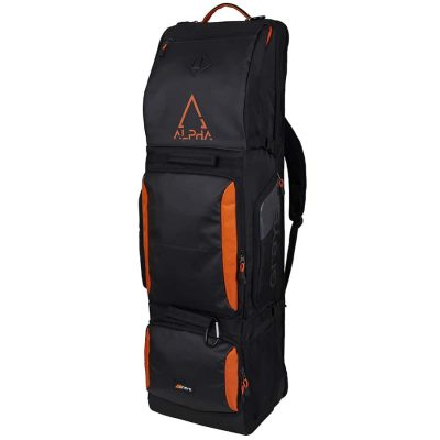 Grays Hockey KITBAG ALPHA Black/Orange