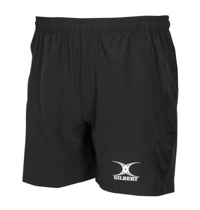 Gilbert Rugby LEISURE SHORTS Black