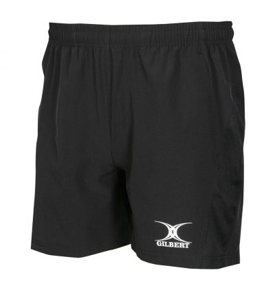 Gilbert Rugby LEISURE SHORTS WOMENS Black