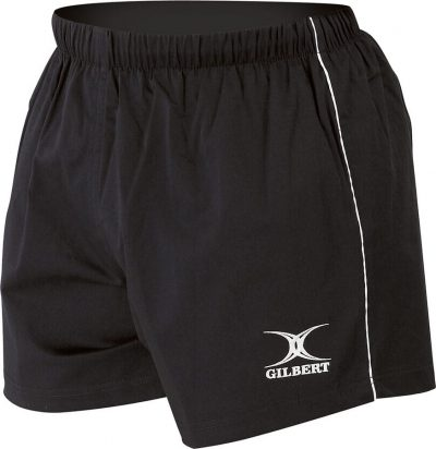 Gilbert Rugby MATCH SHORTS Black