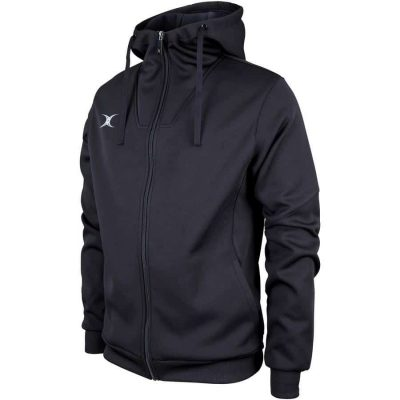 Gilbert Rugby PRO ACTIVE FULL ZIP JACKET Black