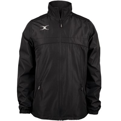 Gilbert Rugby PHOTON FULL ZIP JACKET Black