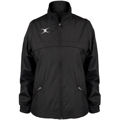Gilbert Rugby PHOTON FULL ZIP JACKET WOMENS Black