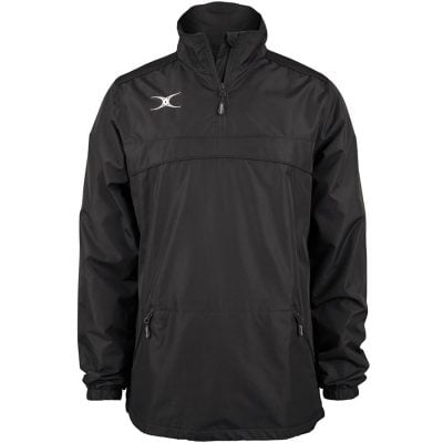 Gilbert Rugby PHOTON QUARTER ZIP JACKET Black
