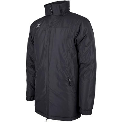 Gilbert Rugby PRO ALL WEATHER JACKET Black