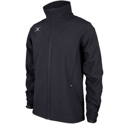Gilbert Rugby PRO SOFT SHELL JACKET Black
