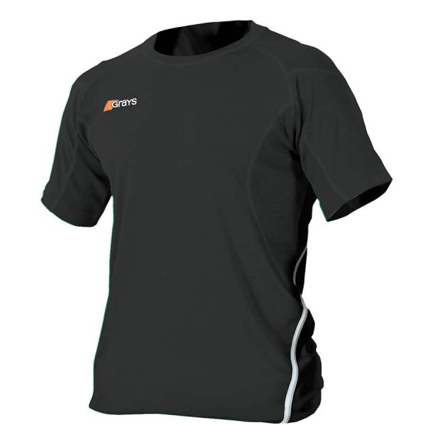 Grays Hockey SHIRT G650 Black/White