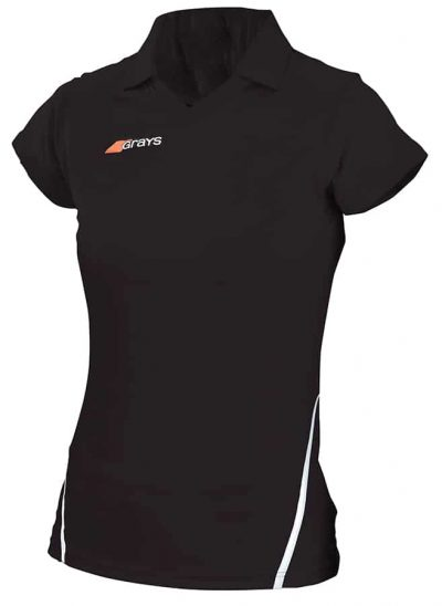 Grays Hockey SHIRT G750 LADIES Black/White