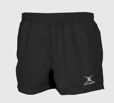 Gilbert Rugby SHORTS SARACEN Black