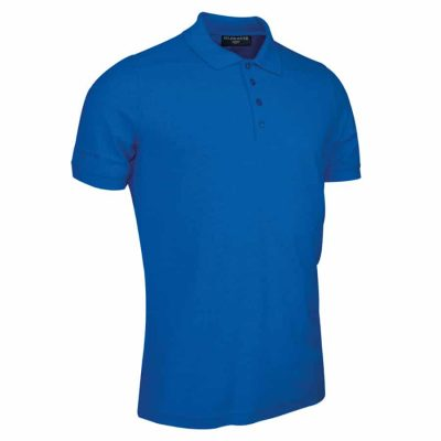 g.Kinloch piqu polo shirt (MSC7211-KIN) - Ascot Blue - Glenmuir