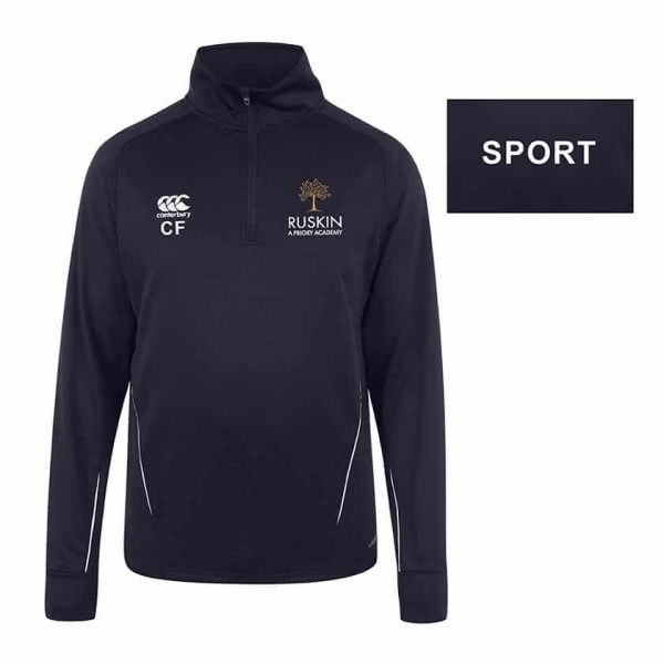 Canterbury Qtr Zip Mid Layer Training Top CS SPORT