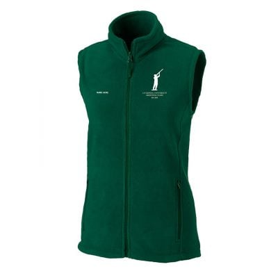 Women's outdoor fleece gilet CS