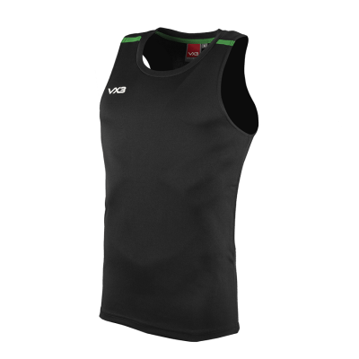 Fortis Vest Black/Emerald