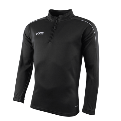 Pro Half Zip Sweat Black/Charcoal/White